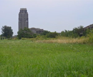 Buffalo's Central Station from a distance