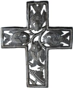 cross with fish